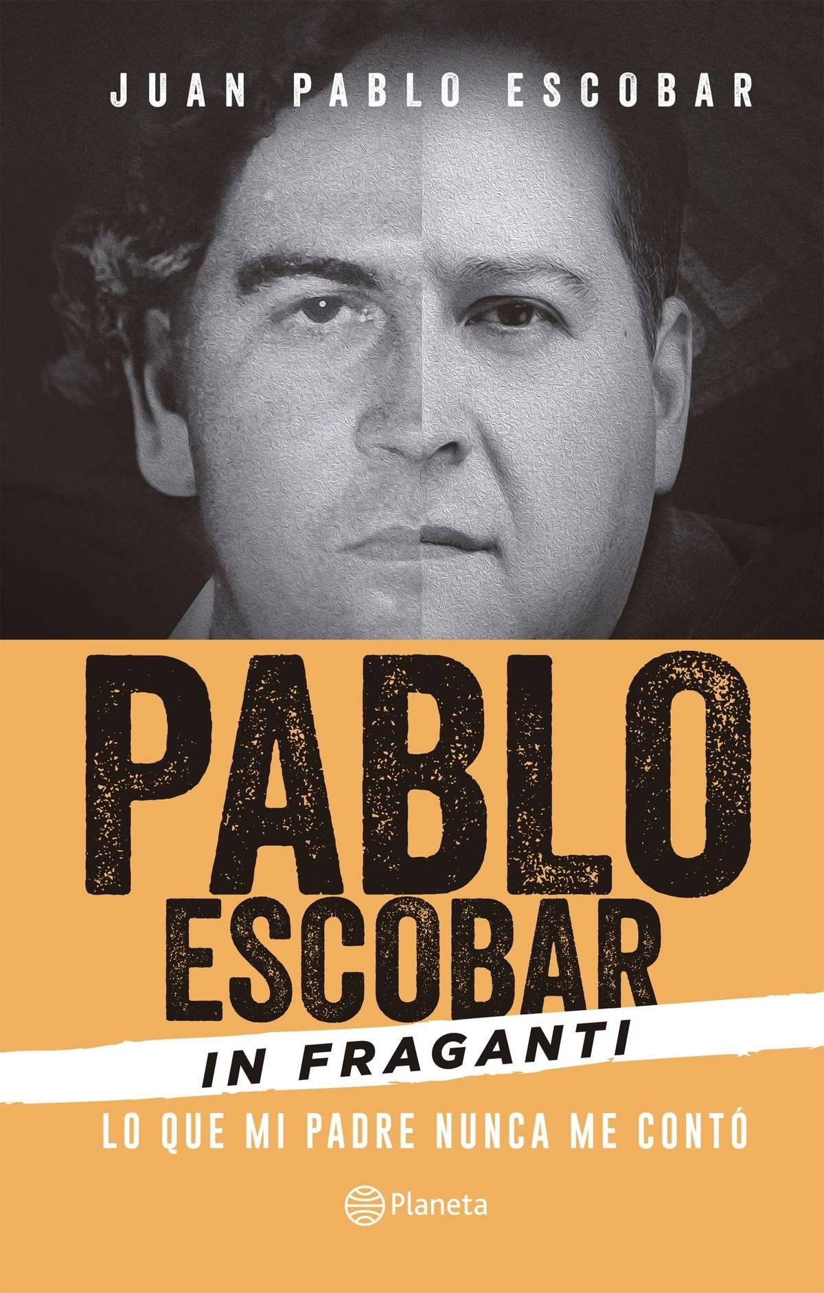Portada libro Pablo Escobar