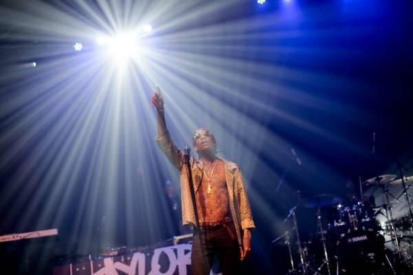 Wiz Khalifa en el Teatro Cariola