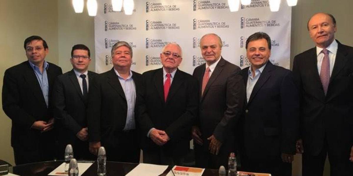 La Cámara Guatemalteca de Alimentos y Bebidas reunirá a grandes empresas del país