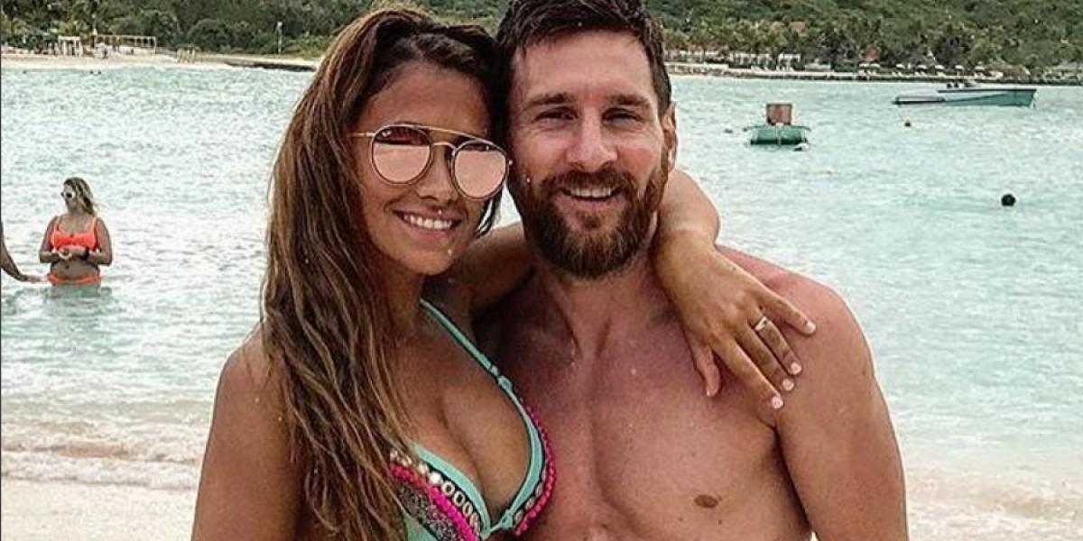 Antonella, esposa de Messi impacta con tremendo cuerpazo