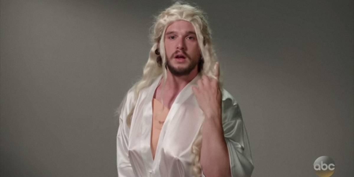 """Jon Snow realiza hilarante video donde audiciona para todos los personajes de """"Game of Thrones"""""""
