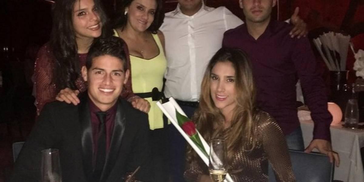 Mamá de James Rodríguez denuncia que fue víctima de los ladrones en un restaurante