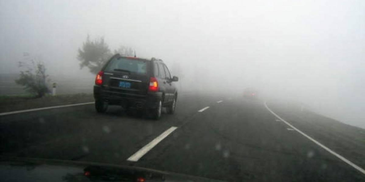 Autoridades reportan banco de niebla en la autopista México-Cuernavaca