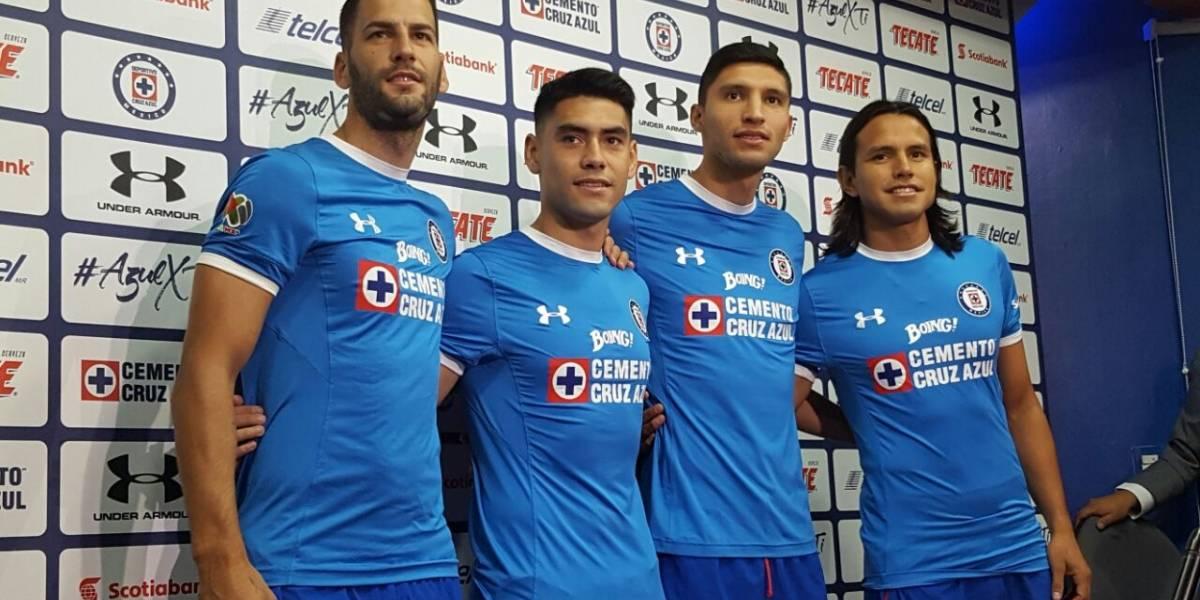 Presenta Cruz Azul a sus refuerzos para el Apertura 2017