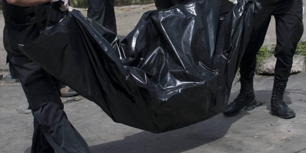 En costales encontraron el cuerpo de un hombre en el centro de Medellín