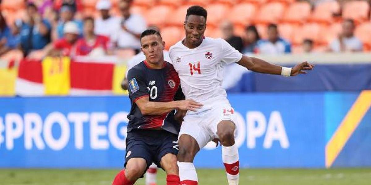 Costa Rica y Canadá dividen puntos en la Copa Oro 2017