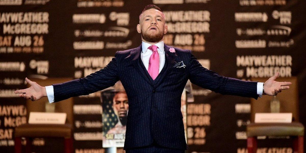 ¿Cuánto ganará Conor McGregor por la pelea ante Floyd Mayweather?