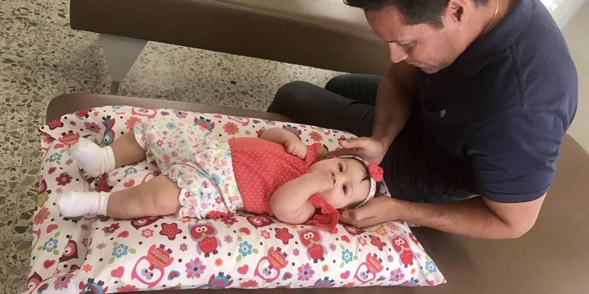 La quiropráctica para infantes