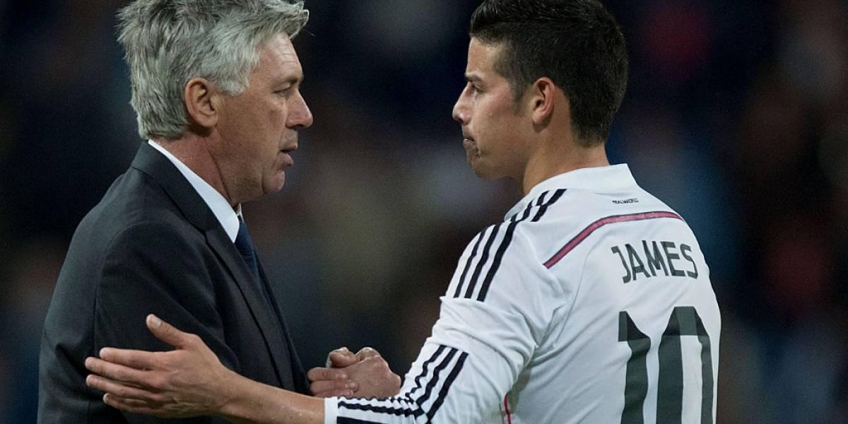 No ha llegado James al Bayern Múnich y los colombianos ya insultan a Ancelotti