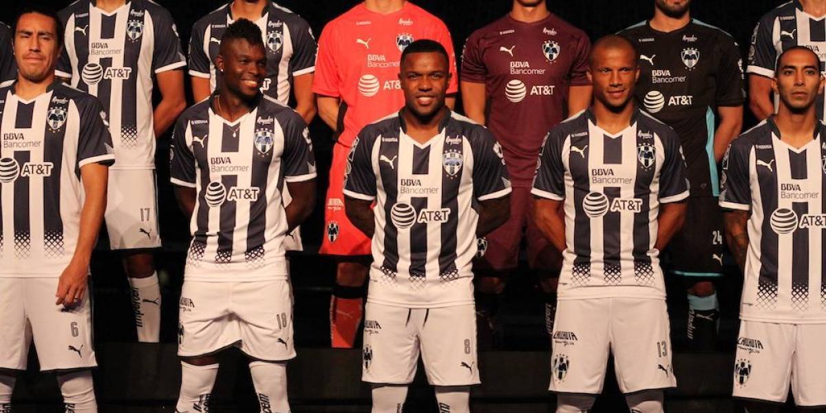 Monterrey presenta el uniforme que usará en el Apertura 2017