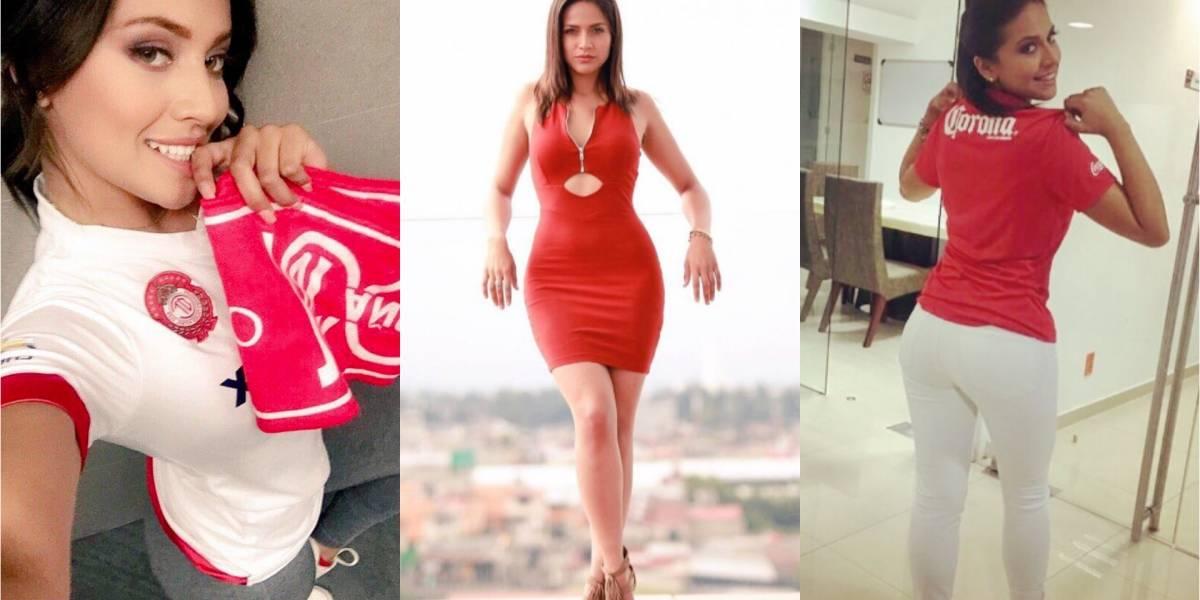 Conoce a Mary Carmen Lara, sexy seguidora del Toluca