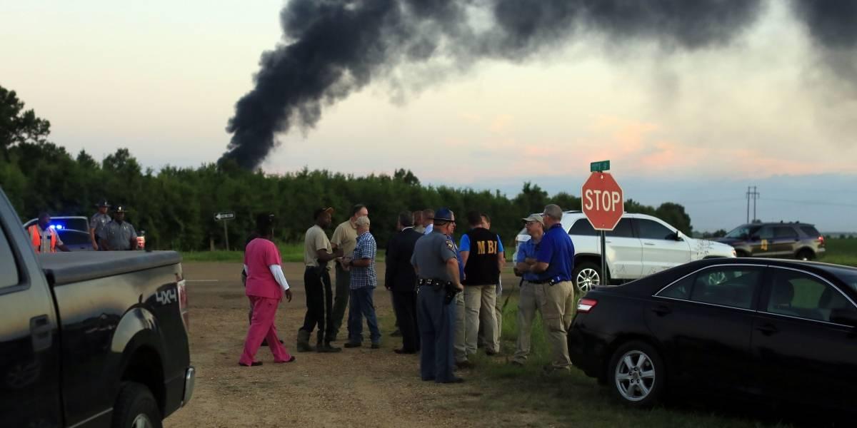 Accidente de avión militar en Mississippi deja 16 muertos