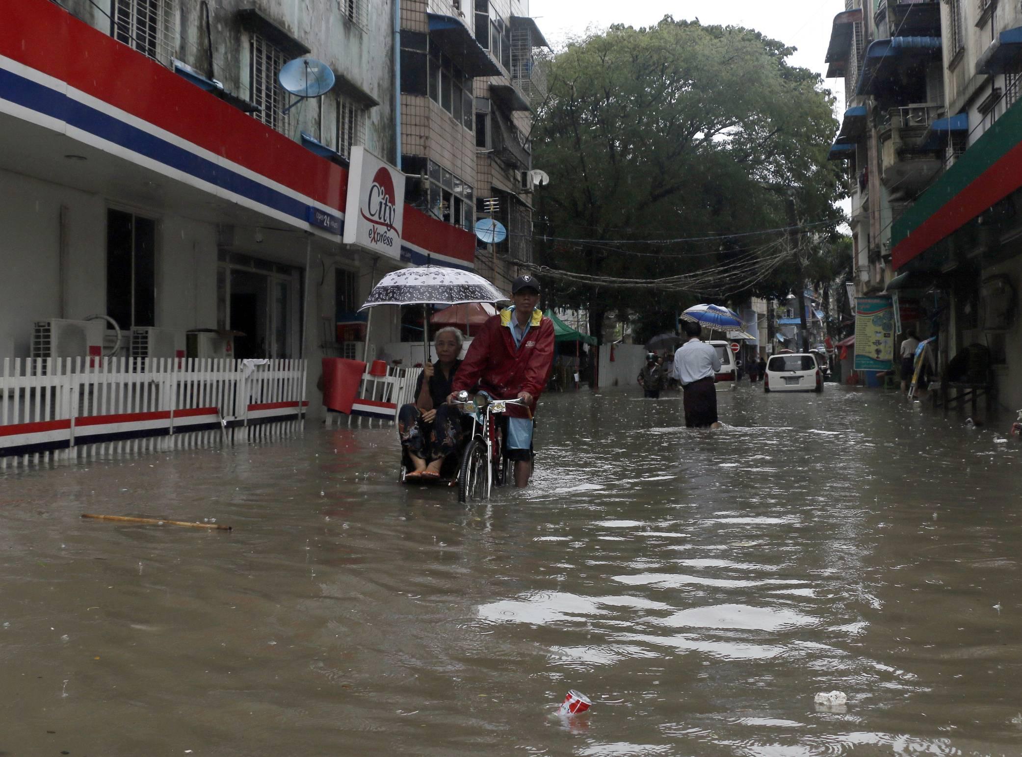 Birmania Foto: AP
