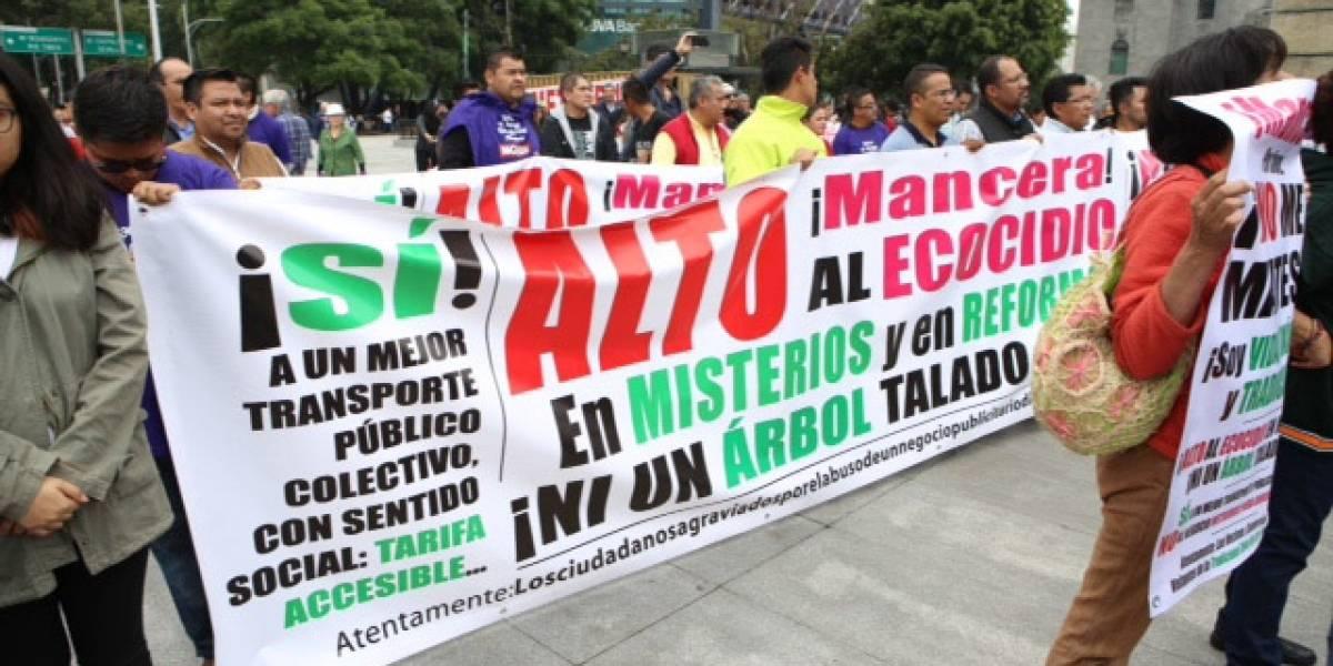 Vecinos de Reforma alistan nuevo amparo contra Línea 7 del Metrobús
