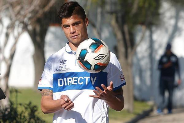 Benjamín Vidal firmó por tres años y medio con Universidad Católica / Photosport