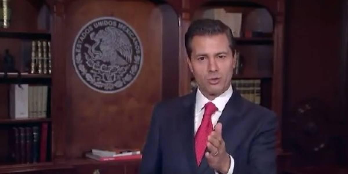 Estamos cerca de alcanzar la cifra histórica de los tres millones de empleos: Peña Nieto