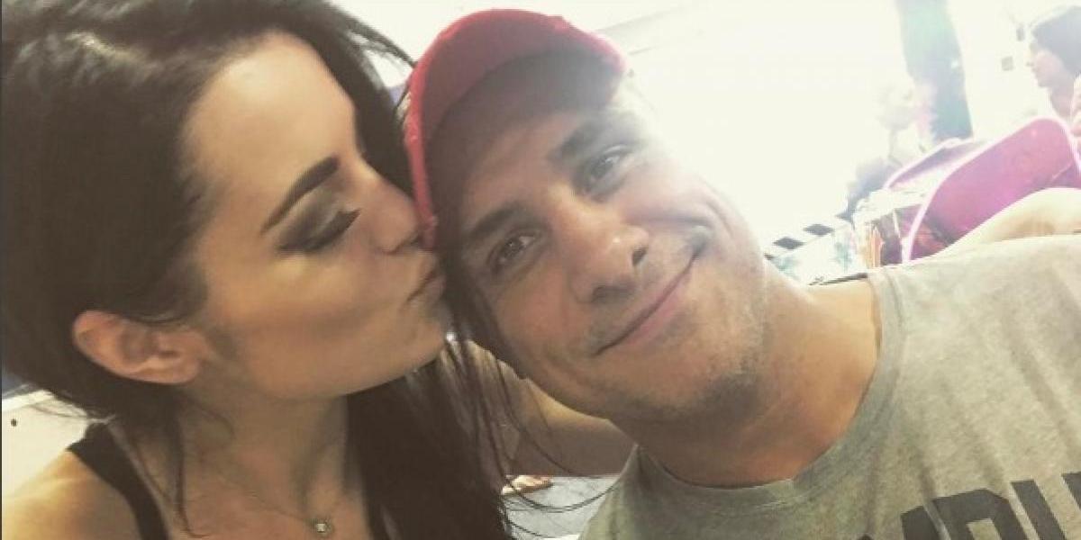 Revelan audio de discusión entre Alberto El Patrón y Paige en aeropuerto de Orlando