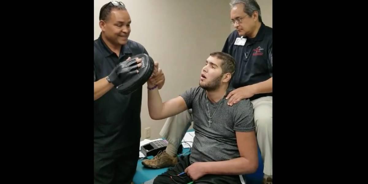 Prichard Colón vuelve a levantar los puños en terapia