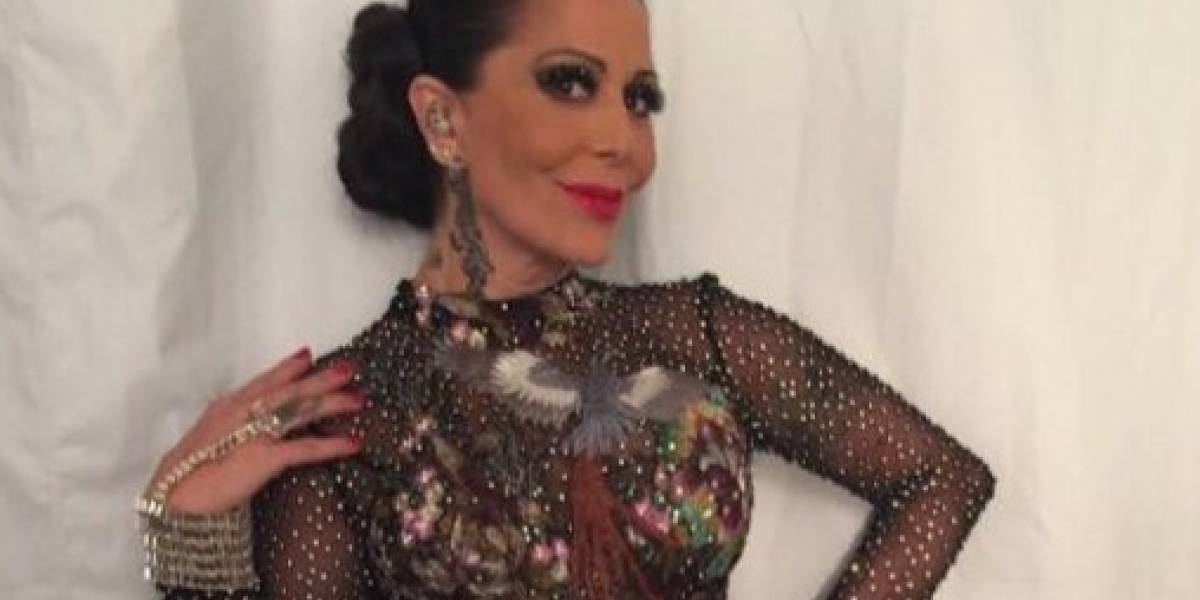 Alejandra Guzmán presume su musculatura