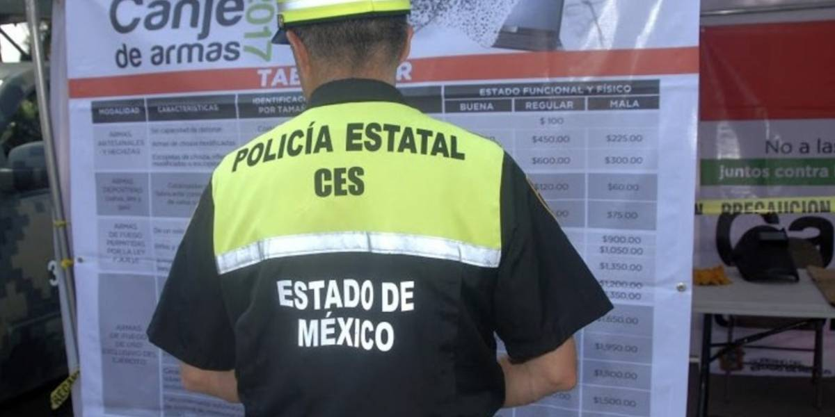 Implementan Canje de Armas en 10 municipios del Edomex para aumentar seguridad