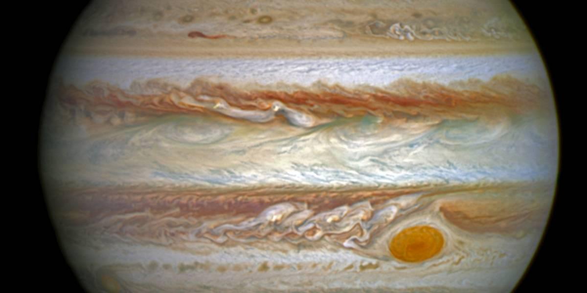"""Nasa difunde las primeras imágenes de la """"Gran Mancha Roja"""" de Jupiter"""