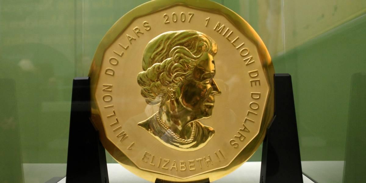 No pudieron esconder los 100 kilos de oro de la moneda más grande del mundo: detienen a cuatro personas en Berlín