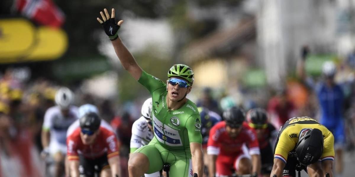 Es una costumbre: Marcel Kittel volvió a hacer de las suyas en el Tour de Francia