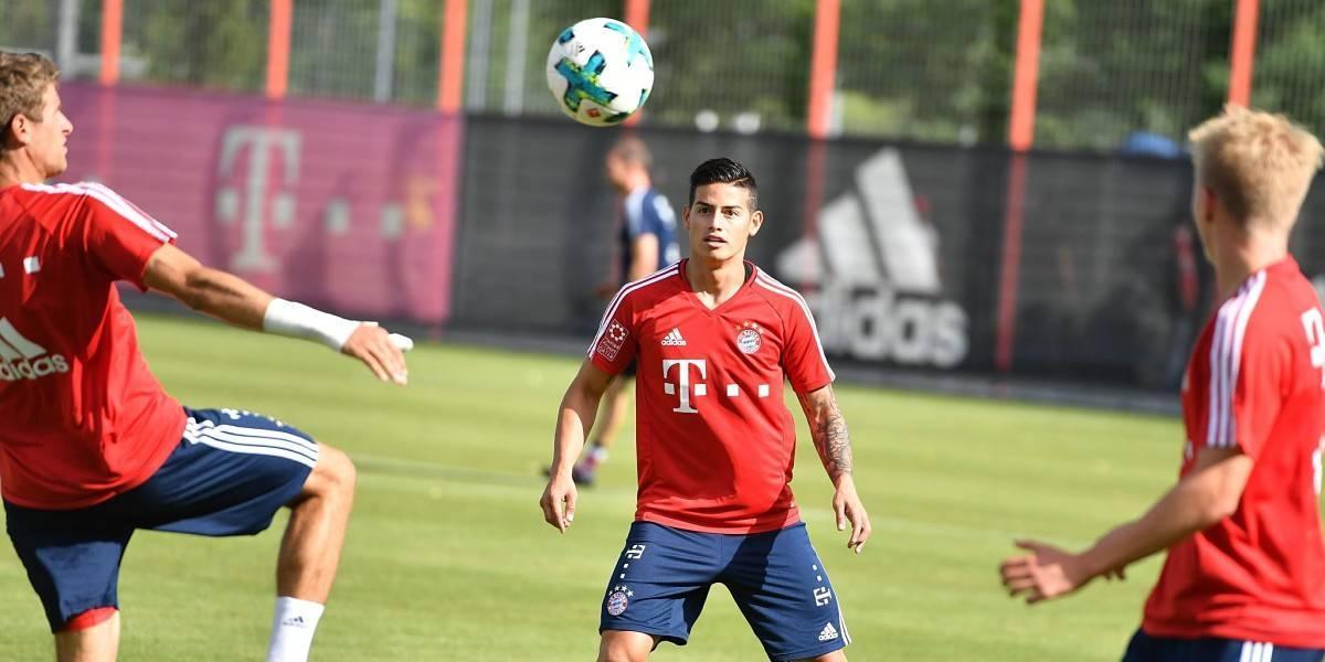 Ancelotti advierte que James no tiene garantía de ser titular en el Bayern