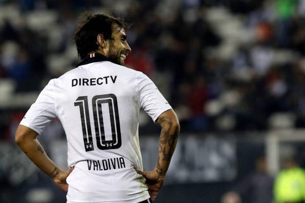 Valdivia hace sonreír a Colo Colo / imagen: Agencia UNO