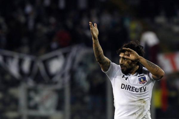 Valdivia le dio un poco de luz a Colo Colo / imagen: Agencia UNO