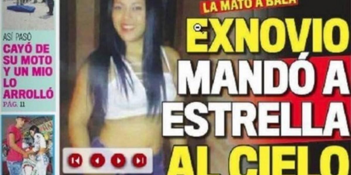 Indignación por portada de un medio que se burla de una mujer asesinada