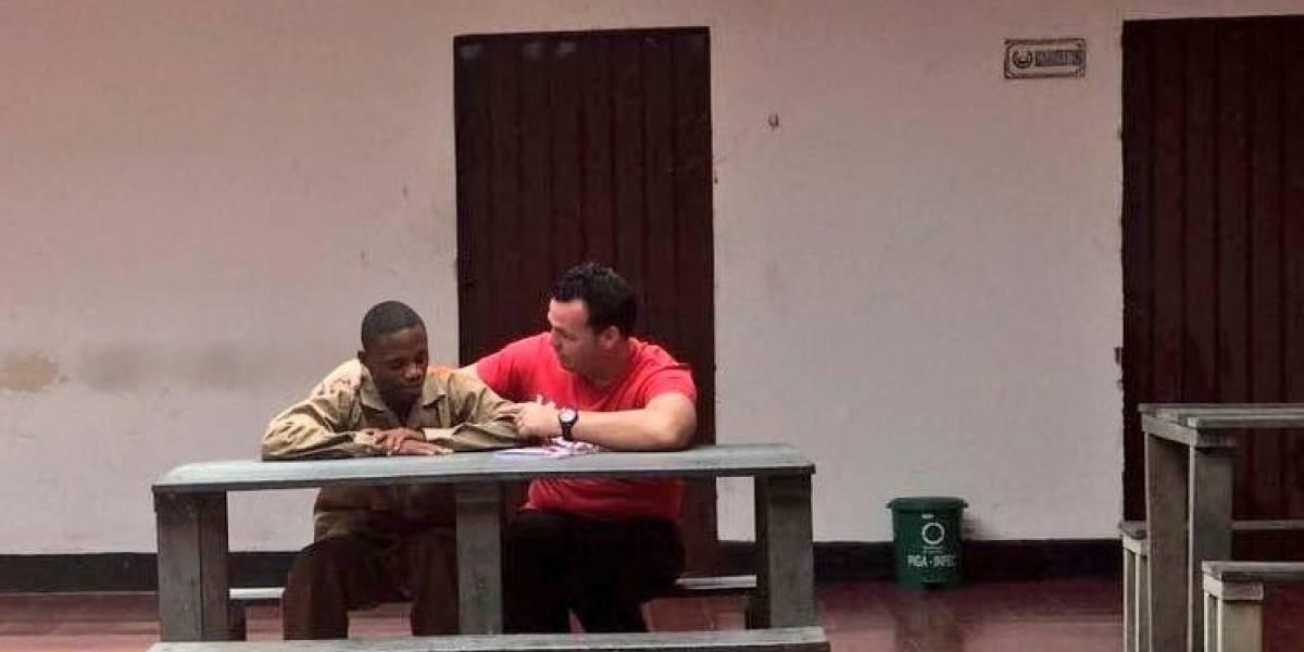 Conmovedor: ex arquero de Ñublense visitó en la cárcel y perdonó al asaltante que le disparó en 2015