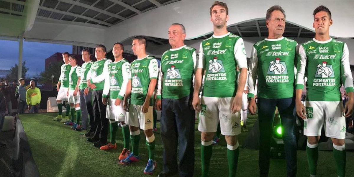 """León presenta su nuevo """"pelaje"""" para el Apertura 2017"""