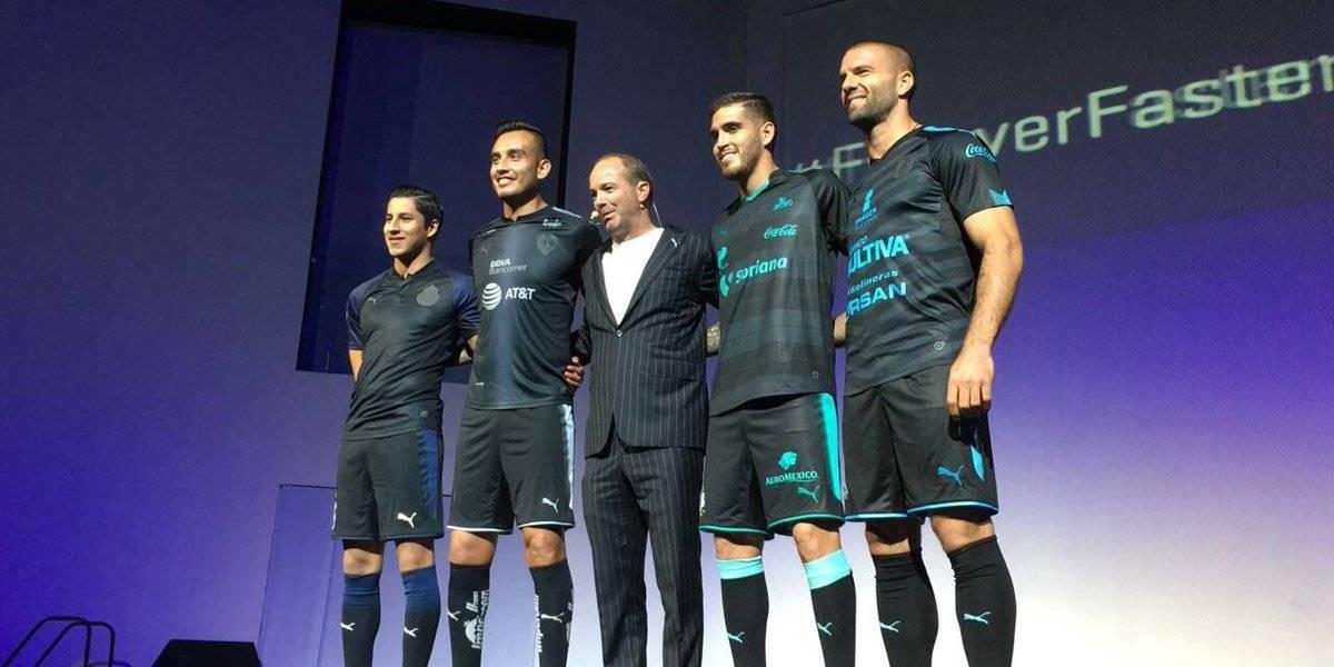 Chivas, Monterrey, Santos y Querétaro presentan jerseys alternativos