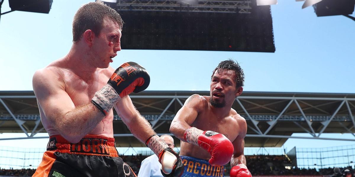 Pacquiao no está de acuerdo con decisión final de pelea ante Horn