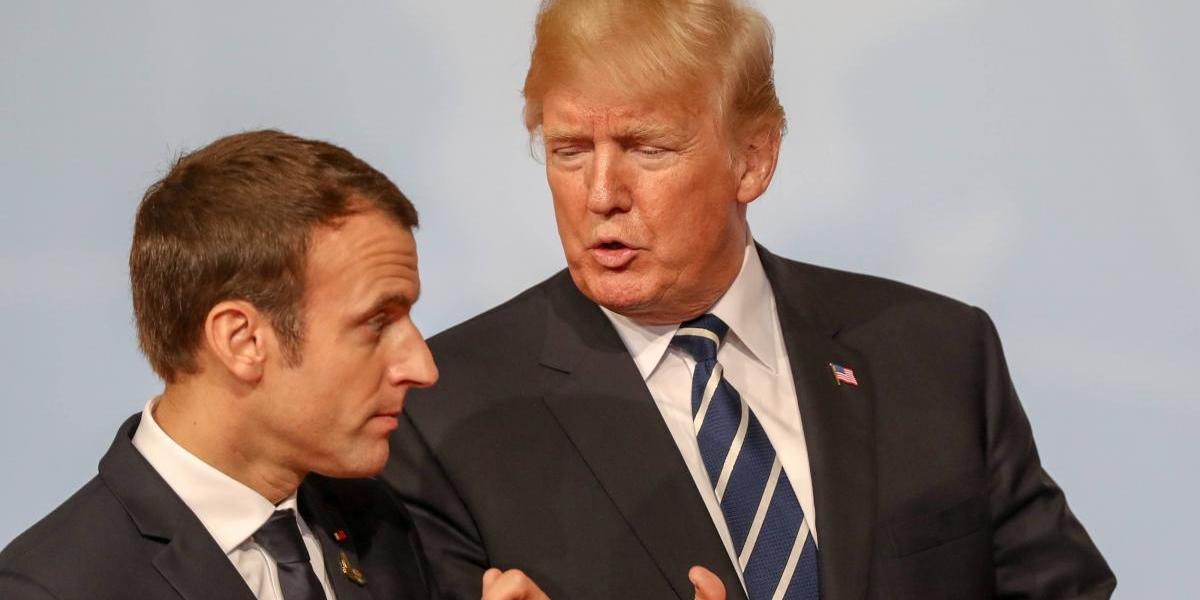 Terrorismo y cambio climático centrarán el encuentro de Macron y Trump