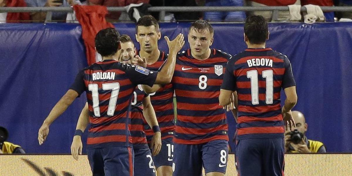 Estados Unidos sufre para vencer a Martinica en la Copa Oro