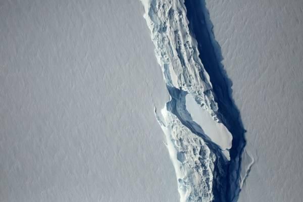 Grieta Antártica