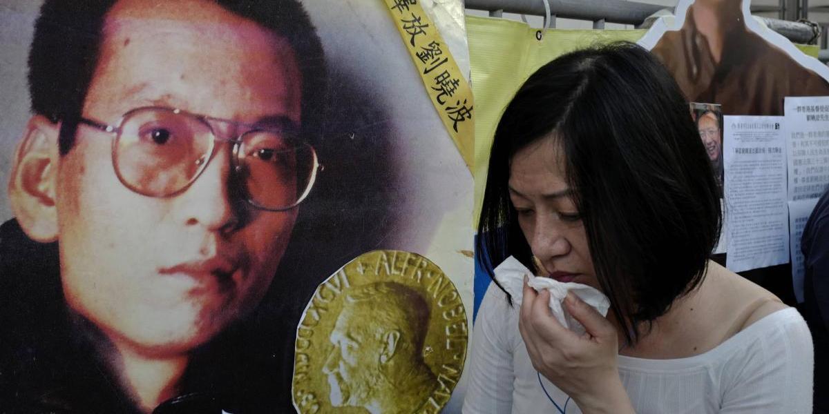 """Liu Xiaobo, Nobel de la Paz encarcelado por China, está """"cerca de morir"""""""