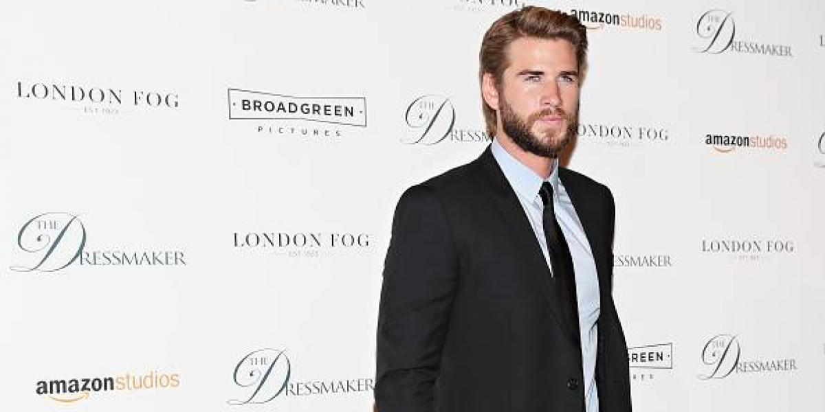 La foto más reveladora de Liam Hemsworth que no deja a la imaginación