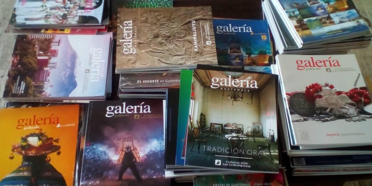 La editorial Galería Guatemalteca presentará sus propuestas en Filgua ¡Conócelas!