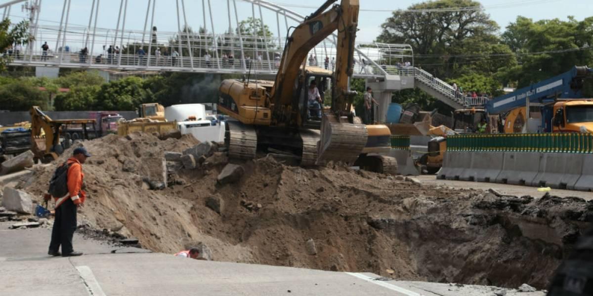 Poblado de Chipitlán alertó a SCT de colapso en Paso Express