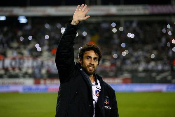 Jorge Valdivia fue aplaudido en Colo Colo / imagen: Photosport