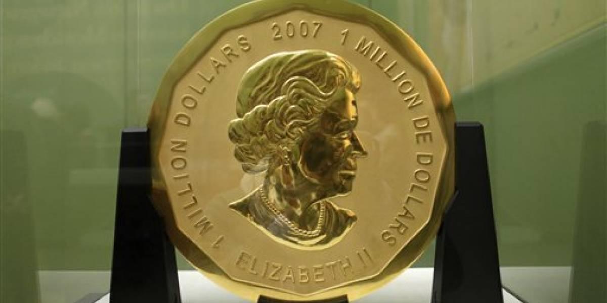 Dos detenidos por el robo de la moneda de oro más grande del mundo