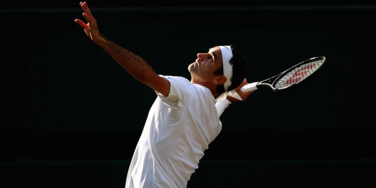Roger Federer, el único de los 'cuatro grandes' en semifinales de Wimbledon