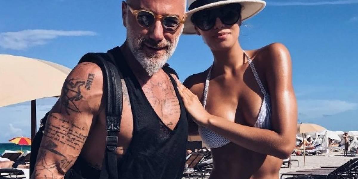 Captan a Ariadna Gutiérrez muy agarrada de Gianluca Vacchi