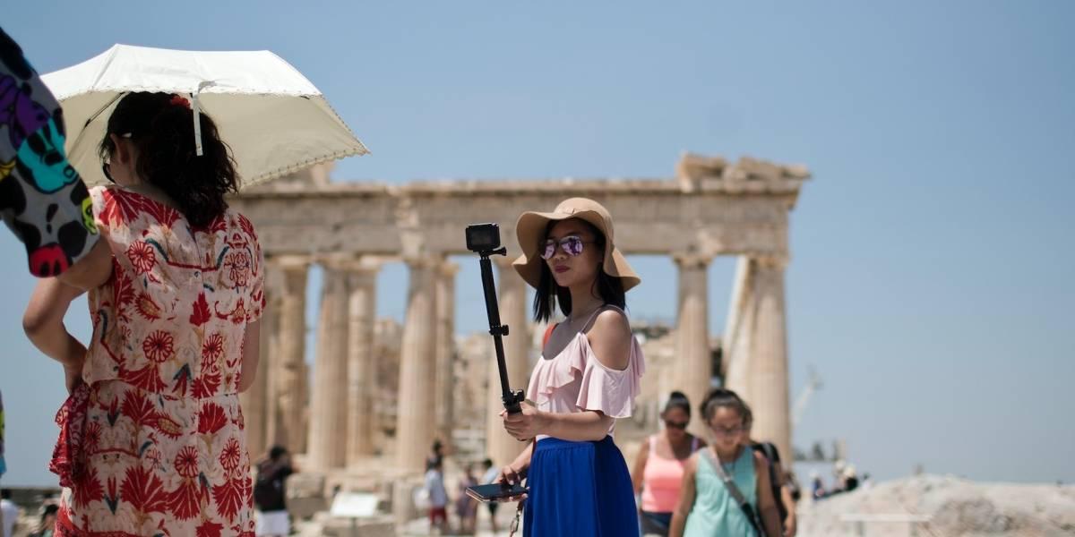 Ola de calor obliga cerrar la Acrópolis y otros sitios en Grecia