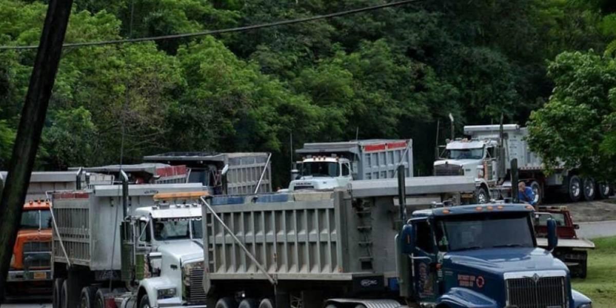 Continuará hasta el viernes entrada de camiones a Peñuelas