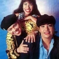 Selen Quintanilla y sus hermanos