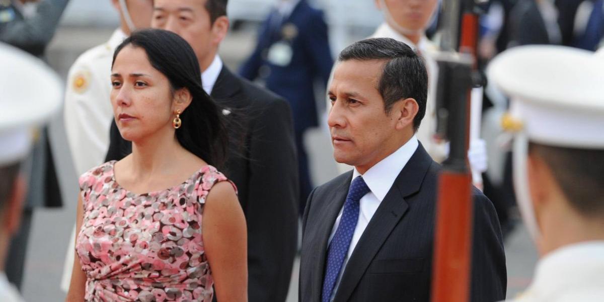 Juez dicta prisión preventiva para Ollanta Humala y su esposa